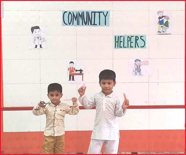 COMMUNITY HELPER'S