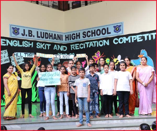 ENGLISH ELOCUTION COMPETITION -BLUE HOUSE