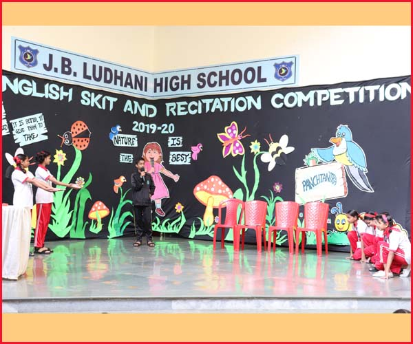 ENGLISH ELOCUTION COMPETITION -RED HOUSE