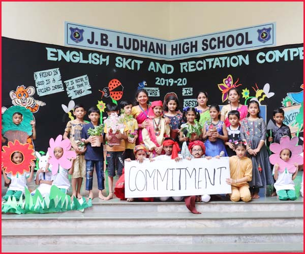 ENGLISH SKIT COMPETITION -BLUE HOUSE