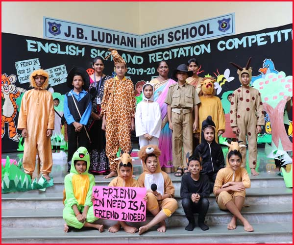 ENGLISH SKIT COMPETITION - YELLOW  HOUSE
