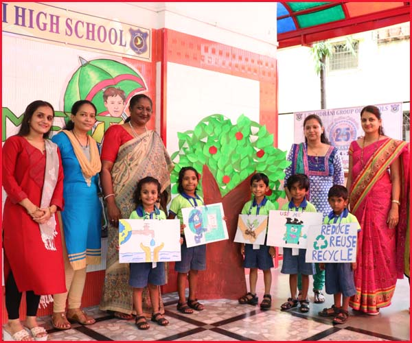 ENVIRONMENT DAY CELEBRATION - PRI-PRIMARY SECTION