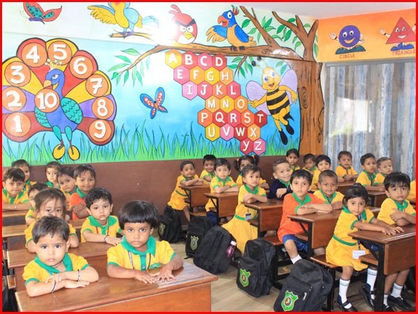 PRE-PRIMARY CLASS ROOM